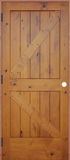Interior Swinging Alder Door